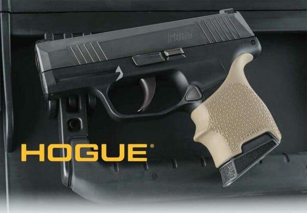 Hogue HandAll Beavertail Grip Sleeve Sig Sauer P365 Black 18700